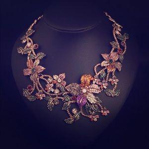 Jewelry - Crystal Rhinestone Luxury Necklace